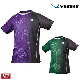 ヤサカ 卓球ユニフォーム ジオスパークルユニフォーム 卓球シャツ メンズ レディース Y-242