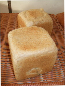 全粒粉パン(砂糖不使用・塩不使用)【高級オリーブオイル使用】国産小麦の全粒粉90%使用。ミドルサイズ240グラム。黒パンなのにもちもちの食感。受注生産で発送日当日に焼き上げ、で