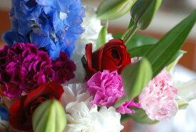 フラワーアレンジメント【ピンクグラデーション】:花束:手土産、記念日(各イベント)、ご自宅、お誕生日