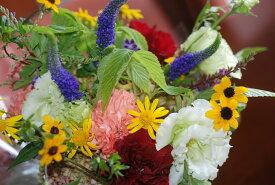 フラワーアレンジメント【イエロー】:花束:手土産、記念日(各イベント)、ご自宅、お誕生日