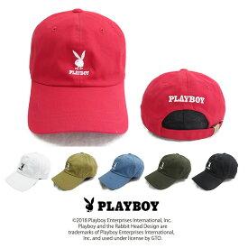 帽子 PLAYBOY刺繍キャップ PBC-001 プレイボーイcap 女子 メンズ レディース アウトドア 紫外線対策 uvケア 春夏 カジュアル