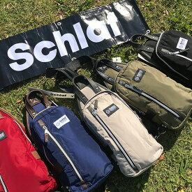 Schlaf-シュラフ- SCF-019 ナイロン使いボディバッグ ウエストポーチ レディース メンズ men's lady's スクエア bag 大容量