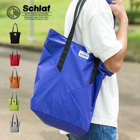 Schlaf-シュラフ- SCF-021 撥水リップストックトートバック レディース メンズ men's lady's スクエア bag 大容量