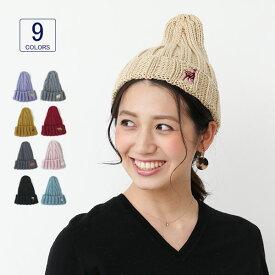 帽子 VA13-060 アニマル刺繍トップシェードワッチ レディース 秋冬 シンプル 女性用 カジュアル