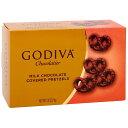 ★送料無料★ゴディバ ミルクチョコレート カバープレッツェル 71gMilk Chocolate Covered Pretzels 2.5 oz