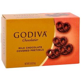 【送料無料】 ゴディバ ミルクチョコレート カバープレッツェル 71gMilk Chocolate Covered Pretzels 2.5 oz