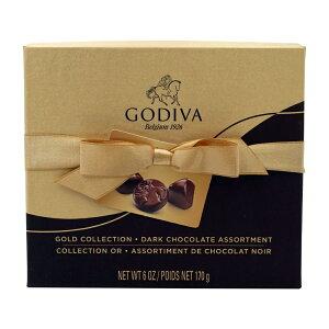 【送料無料】 ゴディバ ゴールド コレクション ダークチョコレート アソート 15個 170g【Godiva】Gold Collection Dark Chocolate Assortment 15 Pieces 6 oz