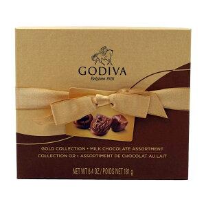 【送料無料】 ゴディバ ゴールド コレクション ミルクチョコレート アソート 14個 181g【Godiva】Gold Collection Milk Chocolate Assortment 14 Pieces 6.4 oz