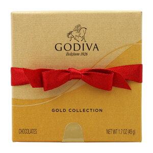 【送料無料】 ゴディバ ゴールド コレクション ホリデーリボン付 チョコレート アソート 4個 49g【Godiva】Gold Collection with Holiday Ribbon Chocolate Assortment 4 Pieces 1.7 oz