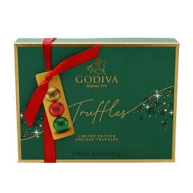 【送料無料】 ゴディバ 限定版ホリデートリュフチョコレート 12個 232g【Godiva】Limited Edition Holiday Truffles 12 Pieces 8.2 oz