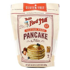 【送料無料】 ボブズレッドミル パンケーキミックス グルテンフリー 680 g【Bob's Red Mill】Pancake Mix Gluten Free 24 oz