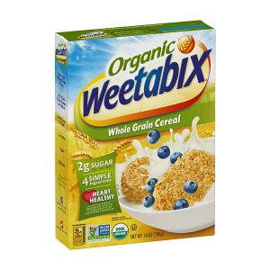【送料無料】 ウィータビックス オーガニック 全粒シリアル 396g 全粒穀物【Weetabix】Organic Whole Grain Cereal 14 oz