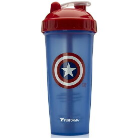 【送料無料】 パーフェクトシェイカー マーベルコレクション キャプテンアメリカ 800 ml【Performa】Performa PerfectShaker Marvel Collection Captain America 28 oz