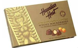 ★送料無料★ハワイアンホースト ハニーコート マカダミア ミルクチョコレート 15個入り【Hawaiian Host】Honey Coated Whole Macadamia Covered in Milk Chocolate 15 pieces 7 oz(198g)