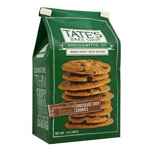 【10%オフハロウィンクーポン対象★10/13 19:00-10/31 23:59】 テイツベイクショップ チョコレートチップクッキー 198g クッキー【TATE'S BAKE SHOP】 Chocolate Chip Cookies 7 OZ
