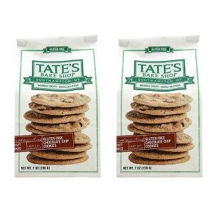 【10%オフハロウィンクーポン対象★10/13 19:00-10/31 23:59】 テイツベイクショップ グルテンフリー チョコレートチップクッキー 198g クッキー 2個セット【TATE'S BAKE SHOP】 Gluten Free Chocolate Chip Cooki