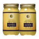 【送料無料】 エインシェント オーガニクス 100% オーガニック ギーバター 473ml 2個セット【Ancient Organics】100% …