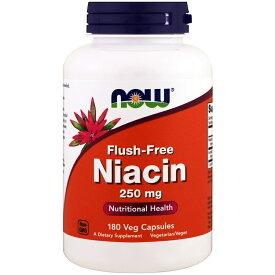★送料無料★ナウフーズ フラッシュフリー ナイアシン 250mg 180錠【NOW FOODS】Flush-Free Niacin 250mg 180CAP