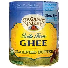 【送料無料】 オーガニックバレー ピュリティ—ファーム オーガニックギーバター 212g【Purity Farms】Organic Clarified Butter 7.5 OZ