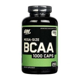 ★送料無料★オプティマムニュートリション メガサイズ1000mg 200錠【Optimum Nutrition】Mega-Size BCAA 1000mg 200CAP