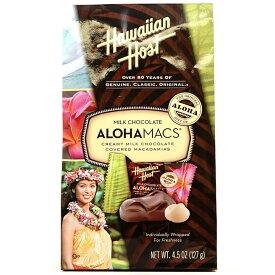 ★送料無料★ハワイアンホースト アロハマックス ミルクチョコレート マカダミア 127 g【Hawaiian Host】ALOHAMACS MILK Chocolate Macadamias 4.5 oz