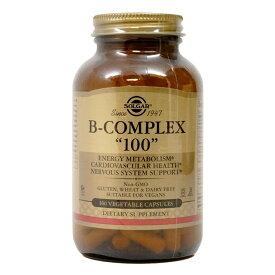 【送料無料】 ソルガー B-コンプレックス 100 100ベジカプセル【Solgar】B-Complex 100 100 V.Caps