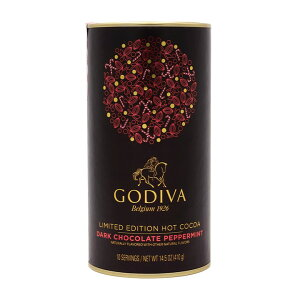 ★送料無料★ゴディバ 限定版 ホットココア ダークチョコレート ペパーミント 410 g【GODIVA】Limited Edition Hot Cocoa Dark Chocolate Peppermint 14.5 oz