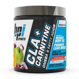 【送料無料】 ビーピーアイスポーツ CLA + カルニチン フルーツポンチ 50杯分【BPI Sports】CLA + Carnitine Fruit Punch 12.34 oz
