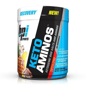 【送料無料】 ビーピーアイスポーツ ケト アミノ トロピカルフリーズ 30杯分【BPI Sports】Keto Aminos Tropical Freeze 1.32 lb