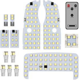 SUPAREE トヨタ プリウス LED ルームランプ プリウス30系 プリウス40系 プリウスα 室内灯 トヨタ Prius 専用設計 爆光 ホワイト カスタムパーツ LED バルブ 光量調節可能 LEDルームランプ 内装パーツ 取付簡単 一年保証
