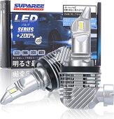 【令和2年最新モデル】SUPAREEH8H11ledヘッドライト新車検対応12000LM40W12V/24V車対応(ハイブリッド車・EV車対応)ホワイト6500Kファンレス爆光フォグランプ2個入3年保証