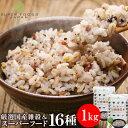 雑穀米 もち麦たっぷり16種雑穀米 1kg(500g×2) スーパーフード もち麦 チアシード キヌア アマランサス