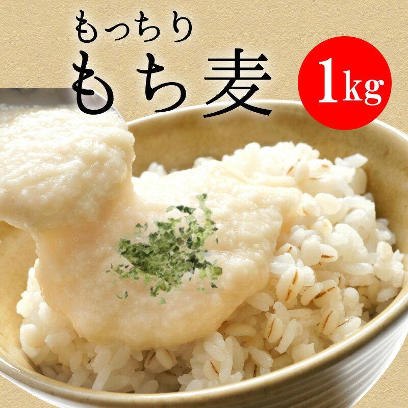 もっちり もち麦 1kg(500g×2)【送料無料】【ダイエット】【雑穀】【1000円ポッキリ】