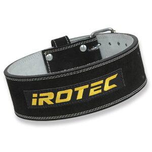 IROTEC(アイロテック)パワーベルト/リフティングベルト トレーニングベルト ダンベル ベンチプレス 筋トレ トレーニング器具 パワーラック ホームジム ウエイトトレーニング ベルト 筋力