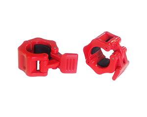 IROTEC(アイロテック)レギュラークイックカラーレッド2個セット 径28mm専用カラー(留め具)/イージーカラー ダンベル バーベル 筋トレ器具 筋トレ ベンチプレス トレーニング器具 筋トレ