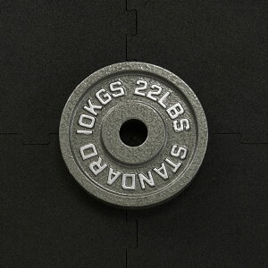 【25日はポイントアップDAY】IROTEC(アイロテック)オリンピックアイアンプレート10KG 穴径50mm/オリンピックバーベル バーベル ダンベル ベンチプレス 筋トレ トレーニング器具 トレーニングマ