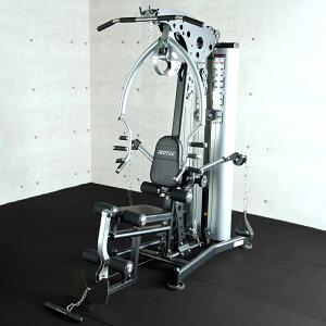 【準業務用】IROTEC(アイロテック)パワーインテグレーションジムWOT マルチジム ホームジム ベンチプレス トレーニング器具 筋トレ トレーニングベンチ 筋力トレーニング ラットプル ウエイ