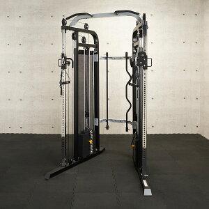 【凖業務用】IROTEC(アイロテック)ケーブルクロスマシン ナロー WOT/パワーラック ホームジム トレーニングマシン トレーニング器具 スミスマシン オールインワン 筋トレ バーベル ベンチプレ