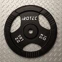 IROTEC(アイロテック)アイアンプレート10KG/バーベル バーベルプレート ダンベル ベンチプレス ダンベルプレート 筋…