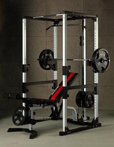 IROTEC(アイロテック)マスキュラーセット140/パワーラック 筋トレ ベンチプレス バーベル ダンベル マルチジム 懸垂 インクライン ホームジム 筋力トレーニング 筋トレ器具 トレーニング器