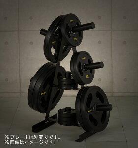 IROTEC(アイロテック) プレートラックオリンピックタイプ 『径50mm専用』ベンチプレス トレーニング器具 トレーニングマシン 筋トレ バーベル 筋力トレーニング 器具 マシン 自宅 バーベルセ
