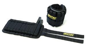 IROTEC(アイロテック)NEWブロックウエイトアンクル(片足5KG×2個)高重量タイプ アンクルウエイト/筋トレ 器具 筋トレ器具 筋トレグッズ ダンベル バーベル トレーニング器具 ダイエット器