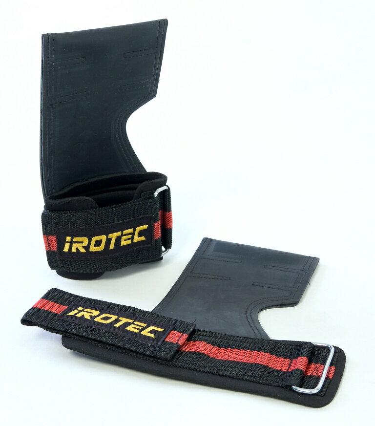 【20日はポイントアップDAY!】IROTEC(アイロテック)パワーグリップ/懸垂、ラットプルトレーニング時の補助として/ダンベル・ベンチプレス・筋トレ・マルチジム・トレーニング器具・トレーニングマシン・バーベル