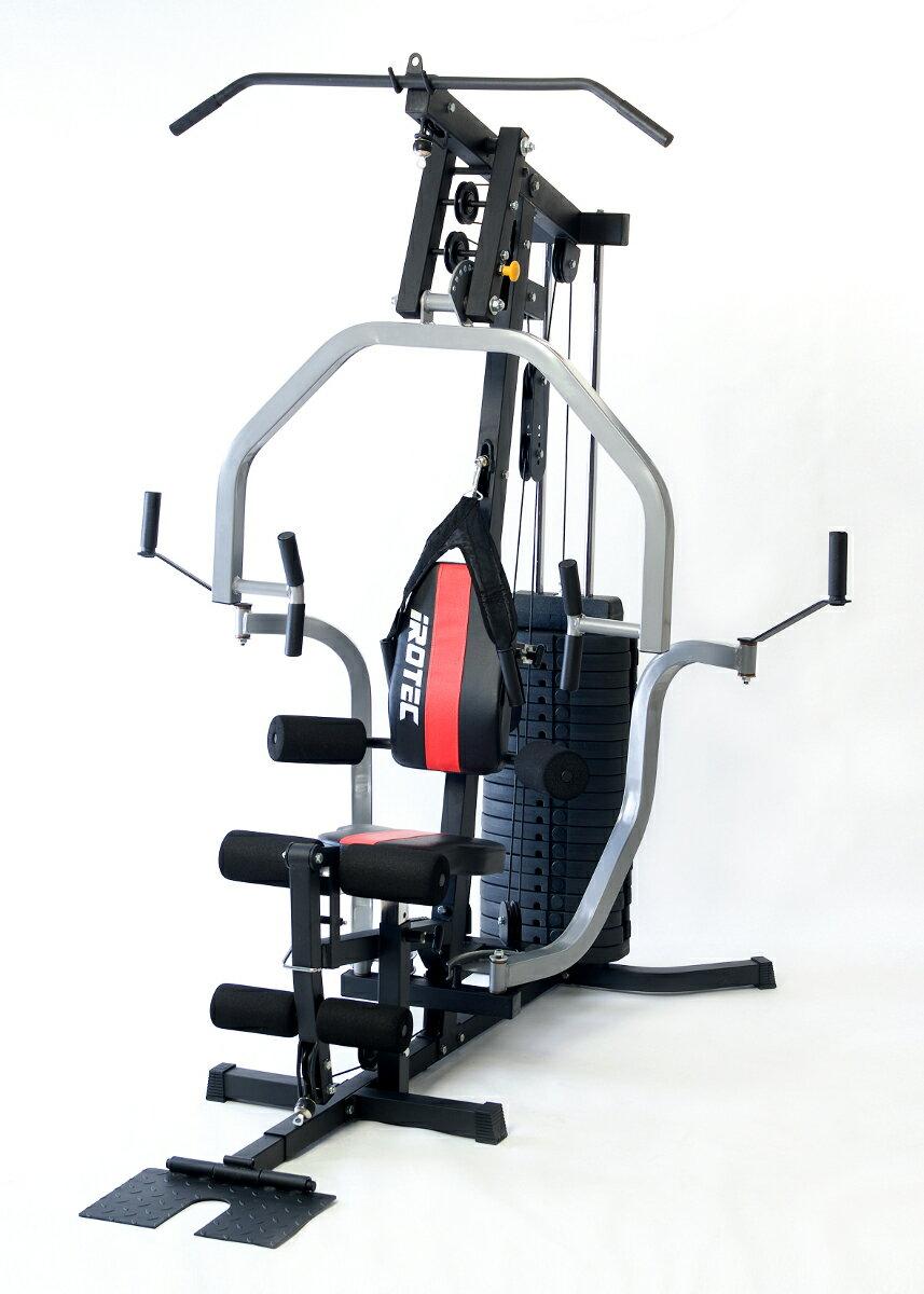 【15日は今年最後のポイントアップDAY!】IROTEC(アイロテック)オリンピアジムCORE 2020 ウエイトMAX100KG /アブ機能搭載で腹筋強化/ホームジム・ベンチプレス・ダンベル・バーベル・ 筋トレ・トレーニング器具・トレーニングマシン