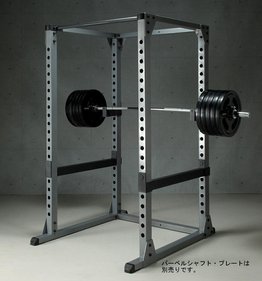 【予約販売:次回入荷予定は5月上旬頃】IROTEC(アイロテック)パワーラックHPM/バーベル ベンチプレス 筋トレ トレーニング器具 トレーニングマシン ホームジム 懸垂 ウエイトトレーニング 筋力トレーニング パワーリフティング