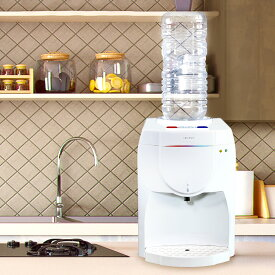 卓上 2L ペットボトル対応 ウォーターサーバー SY-108 冷水 温水 水分補給 カップラーメン 哺乳瓶 お茶