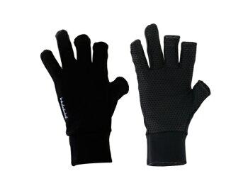 リトルプレゼンツスパンデックス3Fレスグローブブラック・フリーサイズ通販画像です。