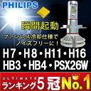 【送料無料】PHILIPS LUXEON ZES LEDヘッドライト 8000ルーメン H4 Hi/Lo H7 H8 H11 H16 HB3 HB4 PSX26...