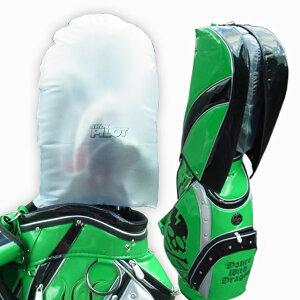 セーフティー カバー ゴルフケース保護カバー GOLFバック ヘッドカバー アイアンカバー