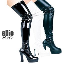 コスプレ 衣装 ELLIE SHOES エリーシューズ ブーツ EL -THRILL 全3色展開 正規品 コスプレ衣装 仮装 大人用 コスチューム ハロウィン costume メイク 派手 セクシー ダンス ドレス フェス